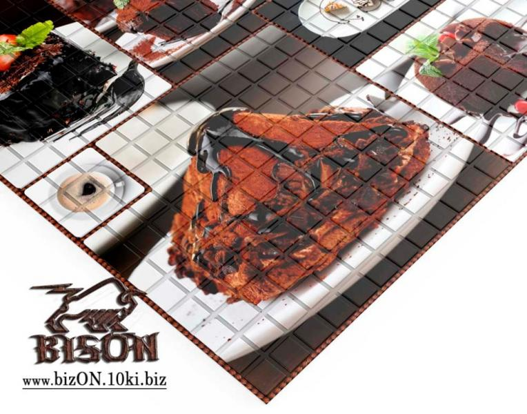 Фото Листовые панели ПВХ Декоративная Мозаика «ДЕСЕРТ»   Листовые панели ПВХ