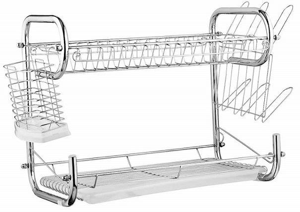 Много функциональная сушилка для посуды двух ярусная EDENBERG EB-2108