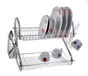 Фото Сушилки для посуды Много функциональная сушилка для посуды двух ярусная EDENBERG EB-2109