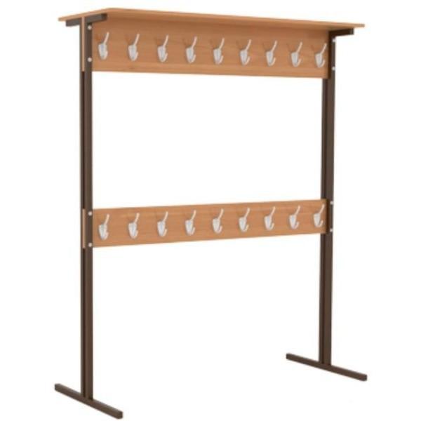 Вешалка гардеробная, напольная  двухсторонняя под заказ от производителя, г.Гродно