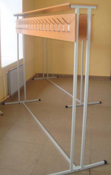 Вешалка гардеробная, напольная на 36 крючков, двухсторонняя от производителя