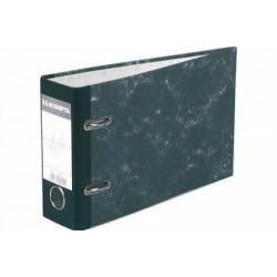 Фото Папки, файлы, планшеты, портфели, сумки (ЦЕНЫ БЕЗ НДС), Папки-регистраторы Банковская папка-регистратор с арочным механизмом удлиненная Exacompta A5, картон