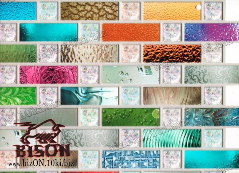 Декоративная Мозаика «РАДУГА»   Листовые панели ПВХ
