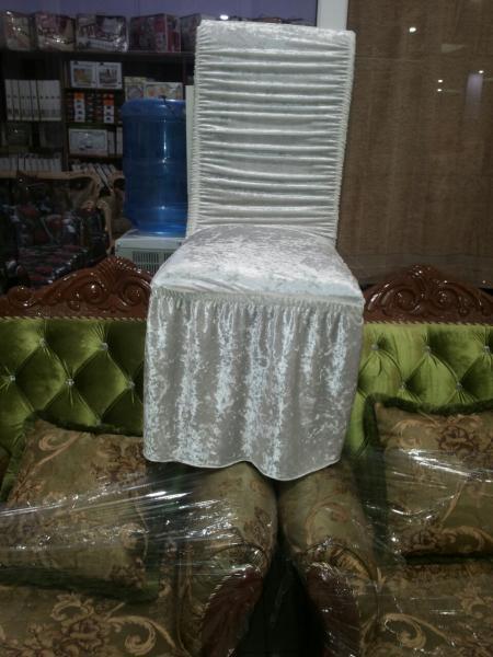 Чехол резинка велюр на стулья