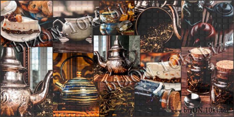 Декоративная Мозаика «ЭРЛ ГРЕЙ»   Листовые панели ПВХ