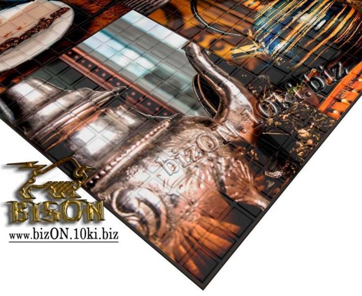 Фото Листовые панели ПВХ Декоративная Мозаика «ЭРЛ ГРЕЙ»   Листовые панели ПВХ