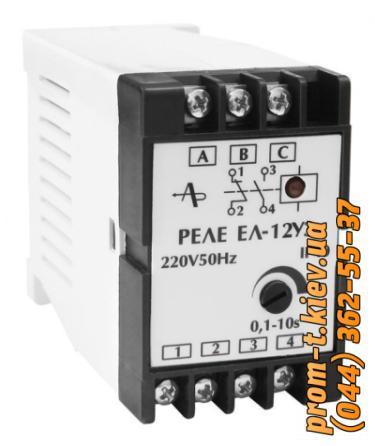 Фото Реле напряжения, времени, тепловое, тока, промежуточное, электромеханическое, давления, скорости , Реле ЕЛ Реле ЕЛ-12