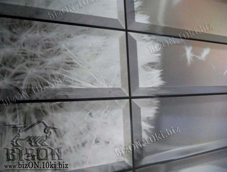 Фото Листовые панели ПВХ Плитка «НЕЖНОСТЬ»   Листовые панели ПВХ