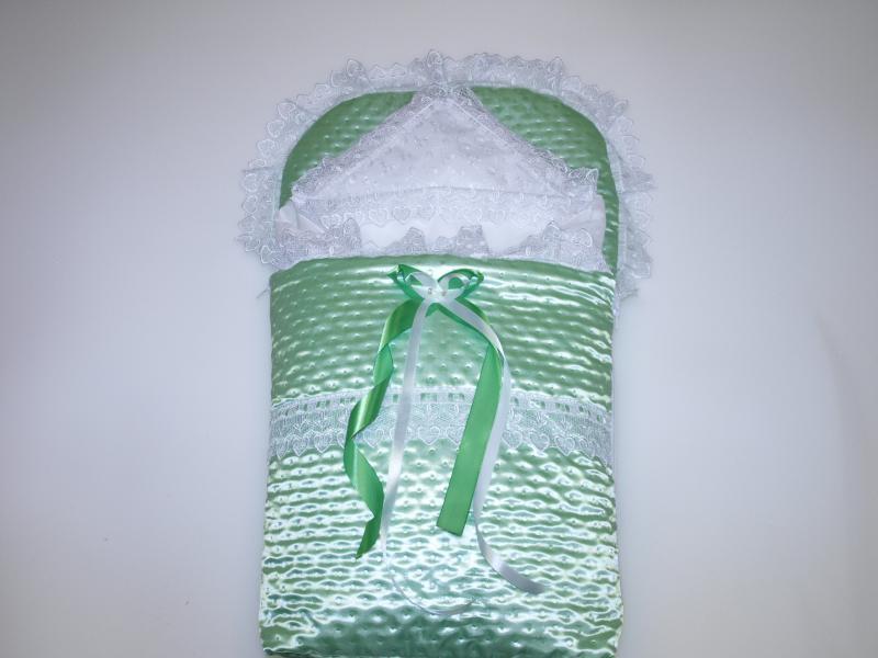 Фото Для новорожденных, Наборы на выписку Конверт на выписку весна-лето без одеяла
