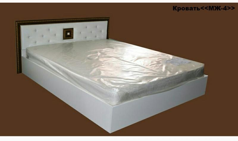Кровать МЖ 4 160х2000