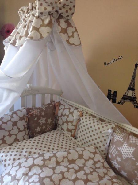 Фото ОДЕЯЛА, ПОДУШКИ, ПОКРЫВАЛА, ПЛЕДЫ., Для новорожденных Набор в кровать подушечка