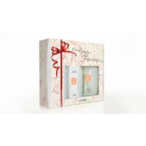 Фото Парфюмерия, Для женщин, Парфюмированные наборы Подарочный набор №35 PERFUMED SET WITH BALSAM