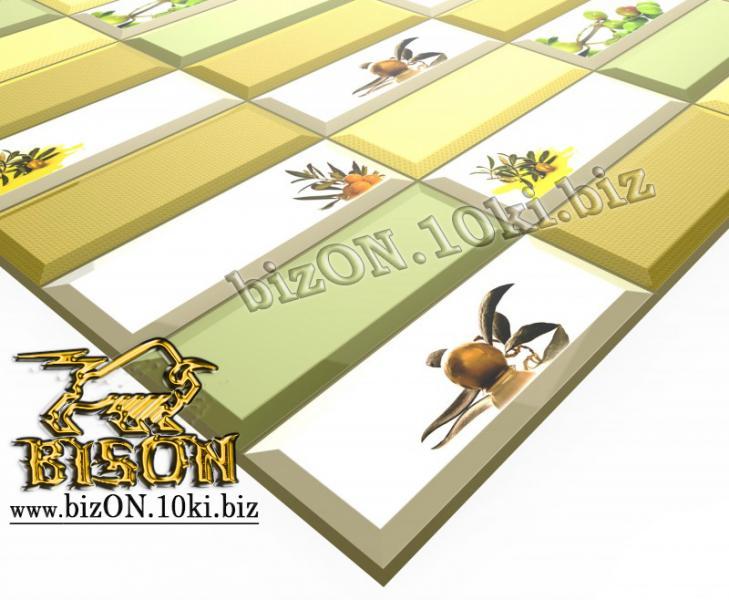 Фото Листовые панели ПВХ Плитка «АРОМА»   Листовые панели ПВХ