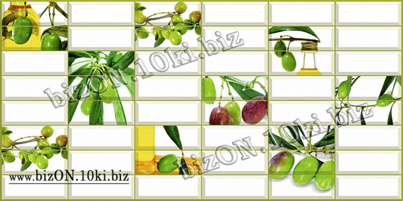 Фото Листовые панели ПВХ Плитка «ОЛИВКА»   Листовые панели ПВХ