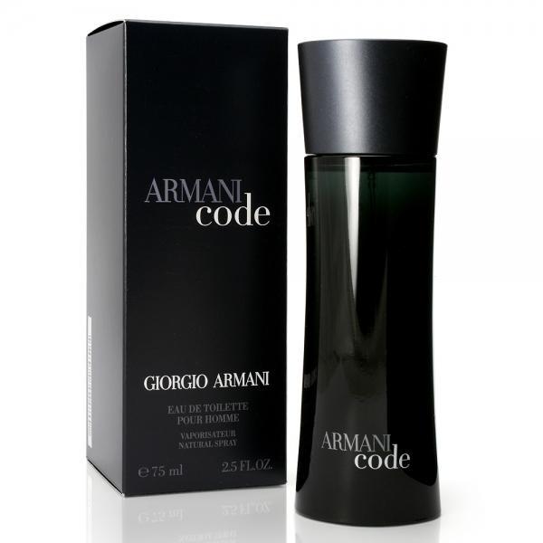 Фото Мужская парфюмерия, Giorgio Armani (Джорджио Армани) Giorgio Armani Code pour Homme EDT 75 ml
