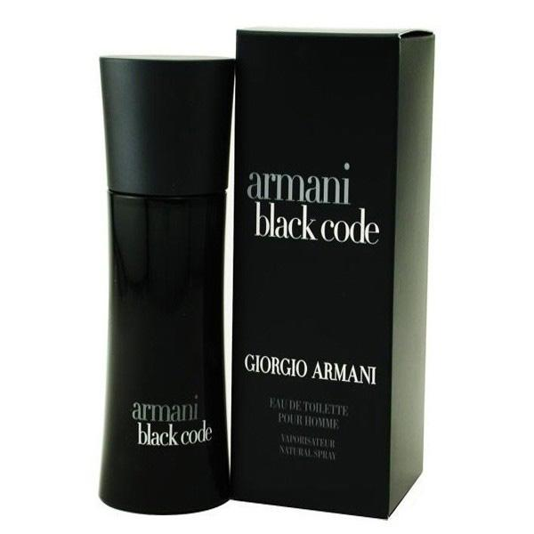 Giorgio Armani Black Code pour Homme edt 75 ml