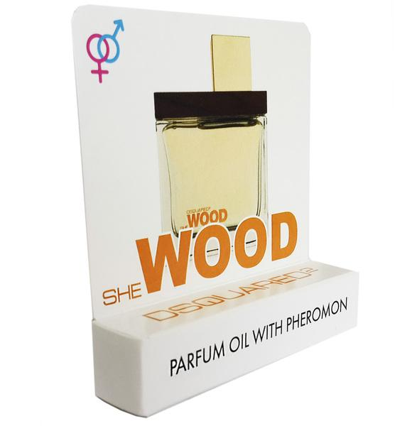 Мини парфюм с феромонами DSquared2 She Wood 5 ml
