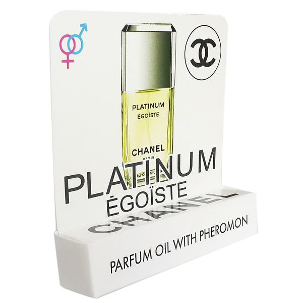 Мини парфюм с феромонами Chanel Egoiste Platinum 5 ml