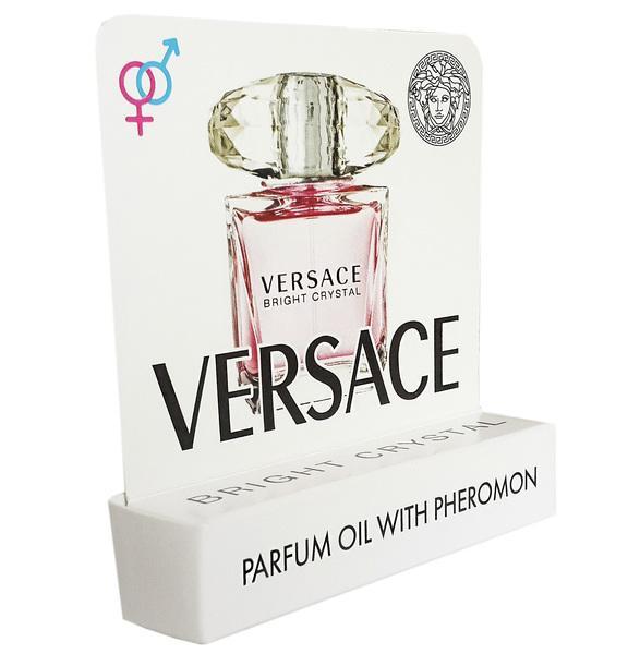 Мини парфюм с феромонами Versace Bright Crystal 5 ml
