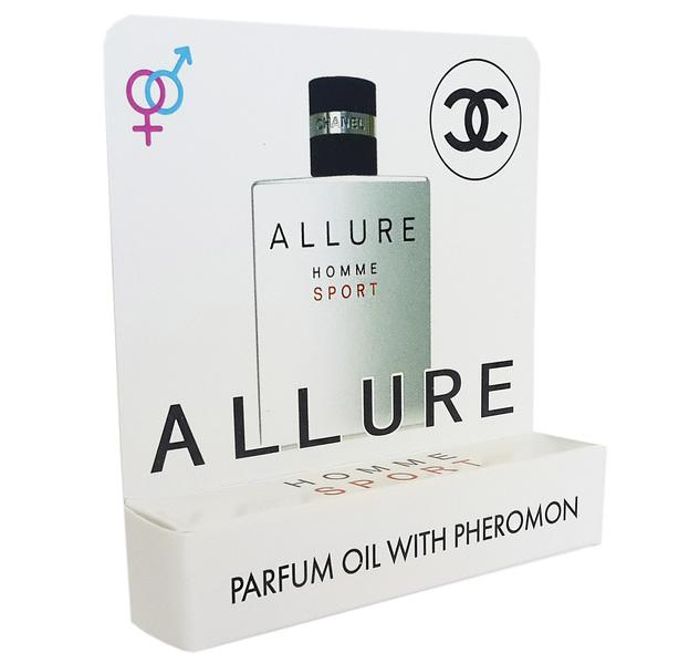 Мини парфюм с феромонами Chanel Allure Homme Sport 5 ml