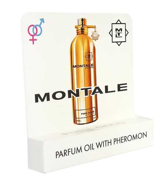 Мини парфюм с феромонами Montale Pure Gold 5 ml