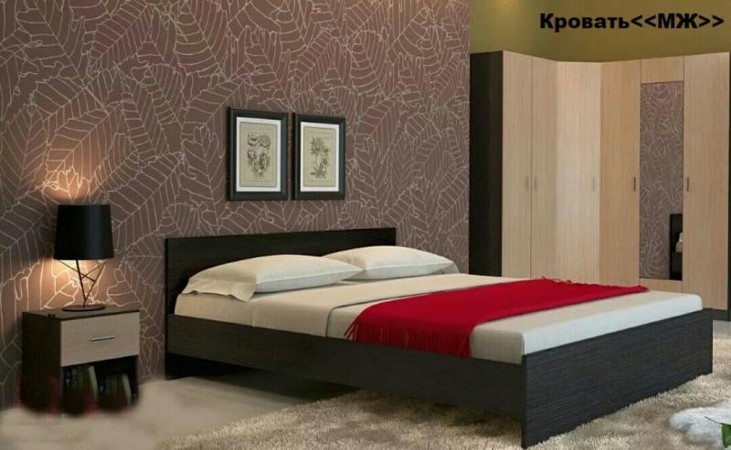 Кровать МЖ 160х2000