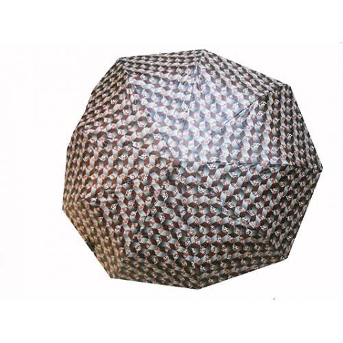Женский зонт полуавтомат 3 сложения Amico Артикул 3526 №11