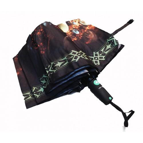 Женский зонт полуавтомат 3 сложения Lanmana Артикул 635-174 №05