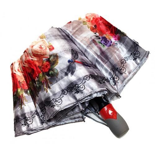 Женский зонт полуавтомат 3 сложения Lanmana Артикул 635-188 №03