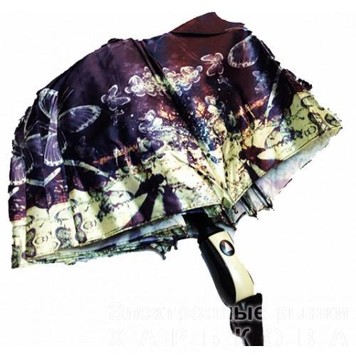 Женский зонт полуавтомат 3 сложения Popular Артикул 1004-276 №02