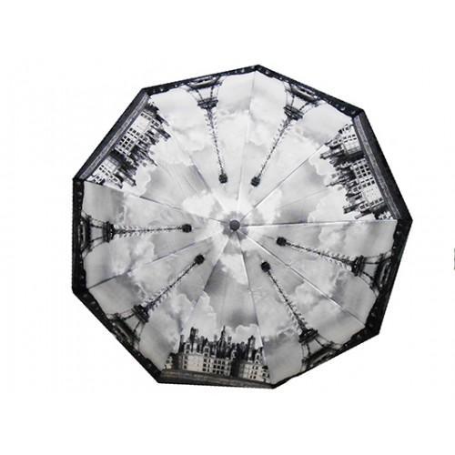 Женский зонт полуавтомат 3 сложения River Артикул 119 №06