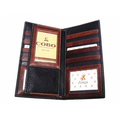 Фото Прочее, Мужские купюрники Кошелек мужской Zenga Артикул 160-04  внутри коричневый