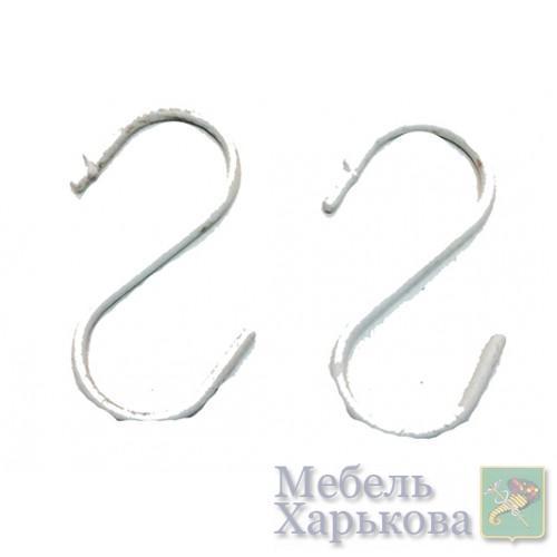 Крючки для товара белый Артикул 11 - Стеллажи торговые и аксессуары в Харькове