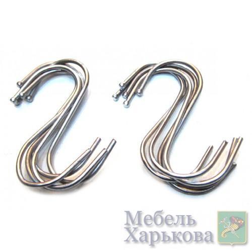 Крючки для товара серебро Артикул 11