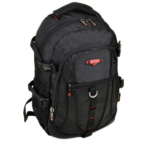Городской молодежный рюкзак Power in Eavas Артикул 9608 черный