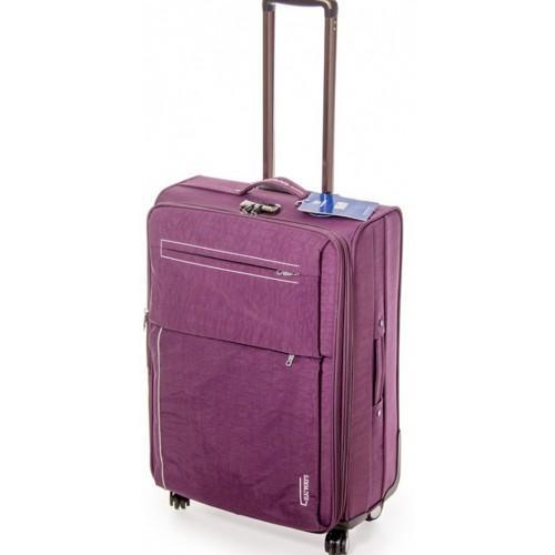 Дорожный чемодан Haiways 4-х колесах замок код Артикул 104 сиреневый