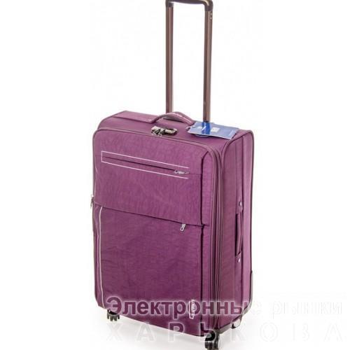 Дорожный чемодан Haiways 4-х колесах замок код Артикул 104 сиреневый - Дорожные сумки и чемоданы на рынке Барабашова