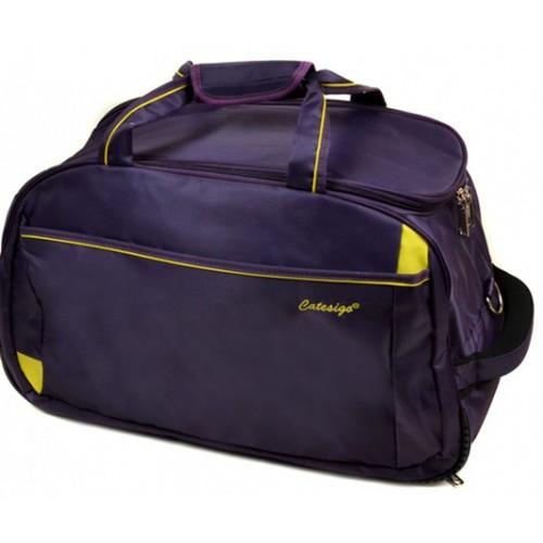 Дорожная сумка на колесах Артикул 22838-24 фиолетовая