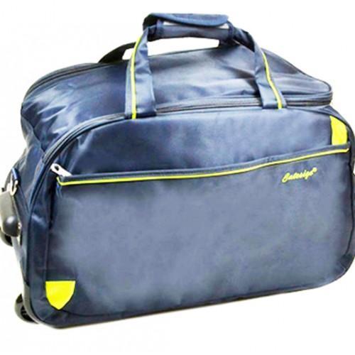 Дорожная сумка на колесах Артикул 22838 синяя