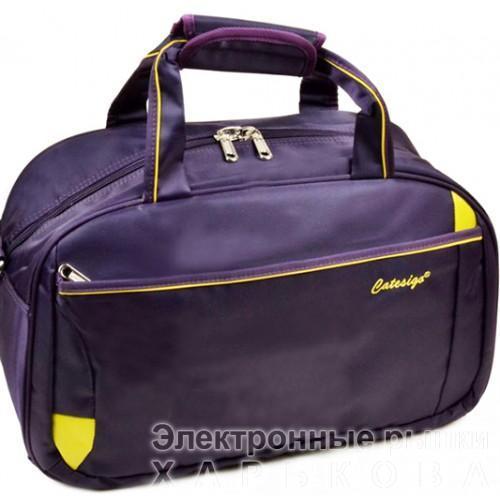 Женская дорожная сумка Small Артикул 22806-1 фиолетовый - Дорожные сумки и чемоданы на рынке Барабашова