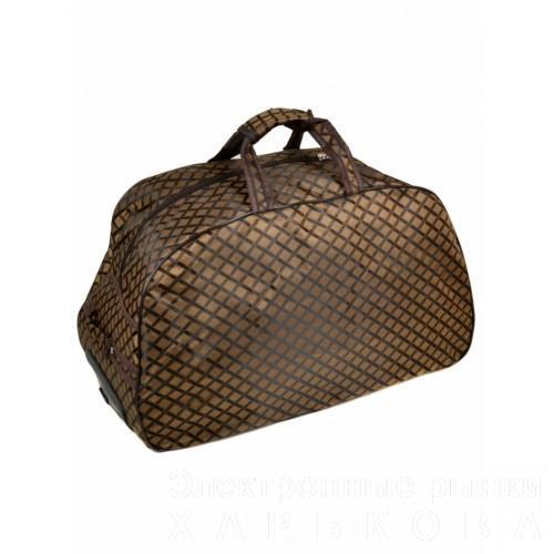 cc5751e98d05 ... Женская дорожная сумка на колесах Артикул 3009-1 - Дорожные сумки и  чемоданы на рынке ...