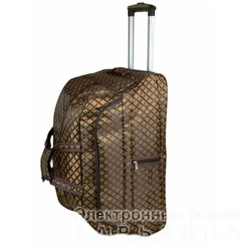 f19121118f15 ... Женская дорожная сумка на колесах Артикул 3009-1 - Дорожные сумки и  чемоданы на рынке