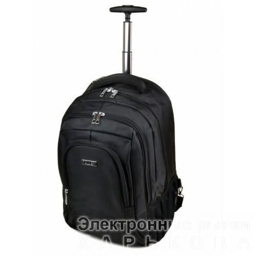 Женская дорожная сумка на колесах Power In Eavas Артикул 1877 черная - Дорожные сумки и чемоданы на рынке Барабашова