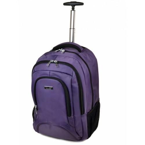 Женская дорожная сумка на колесах Power In Eavas Артикул 1877 фиолетовая