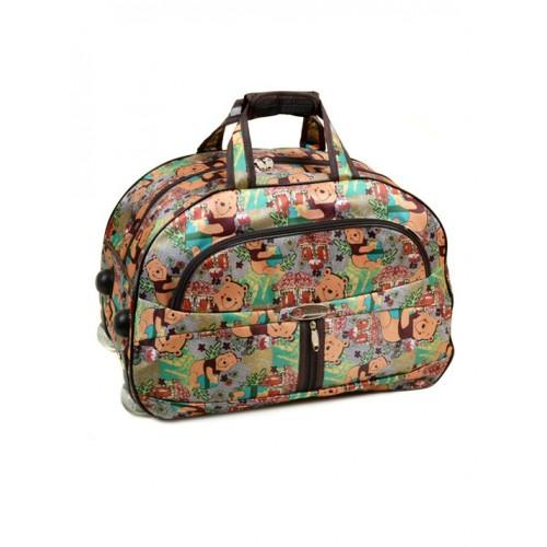 Женская дорожная сумка на колесах Артикул 3004