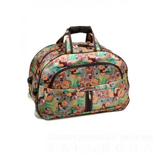 Женская дорожная сумка на колесах Артикул 3004 - Дорожные сумки и чемоданы на рынке Барабашова