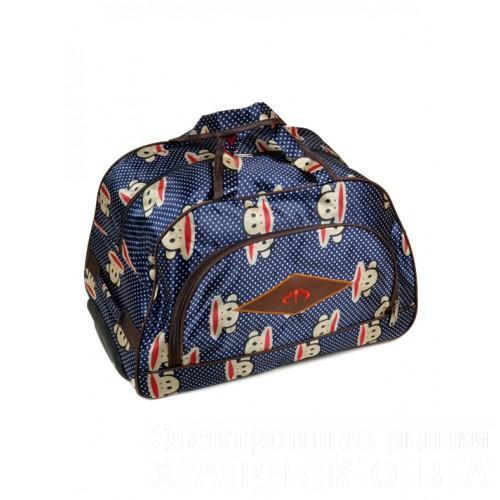 Женская дорожная сумка на колесах Артикул 3010 - Дорожные сумки и чемоданы на рынке Барабашова