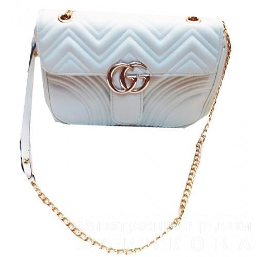 169aa0e737d0 женская сумка Gucci артикул 3 20 белая женские сумочки и клатчи