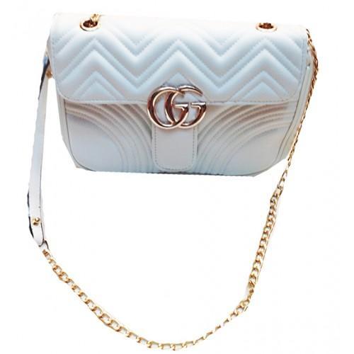 Женская сумка Gucci Артикул 3-20 белая
