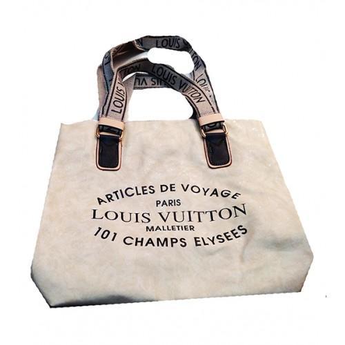 Женская сумка Louis Vuitton Артикул 4-16-16 бежевая